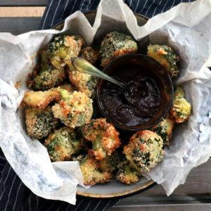 Broccoli panerad i panko!
