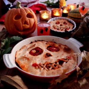 Köttfärspaj till Halloween!