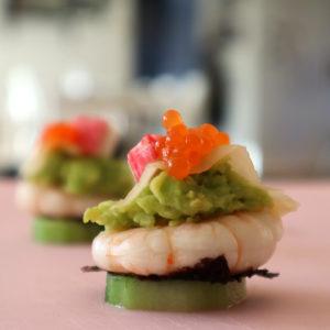 Sushi-inspirerad plockmat!