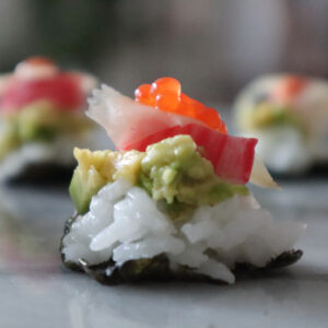 Sushi som aptitretare!